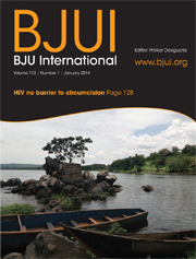 BJUI front page