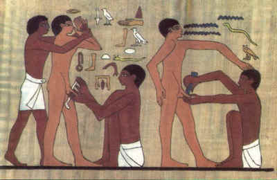 Ancient Egyptian circumcision