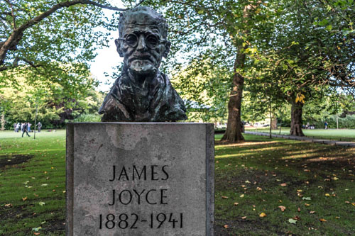 James Joyce © Wikipedia Creative Commons Licence