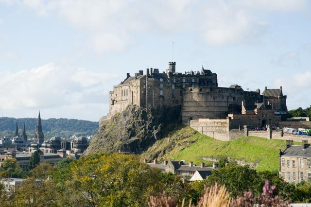Edinburgh Castle © Nigel Bullock 2012